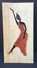 RARE Original Hand Signed African American Dancer Art Rudolphus Thorpe Unframed