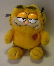 Jim Davis Cartoon Comic Figur Garfield als Plüschtier mit Herz