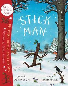 Stick Man Book & CD,Julia Donaldson, Axel Scheffler