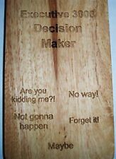 The Executive Decision Maker -every boss should have 1