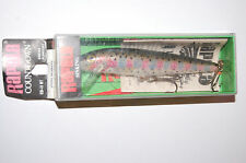 """old rapala lure countdown cd-11 rt rainbow trout made in Ireland unopened 4 3/8"""""""