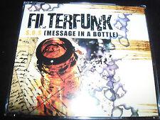 Filterfunk – SOS (Message In A Bottle) Australian 7 Track Remixes CD Single