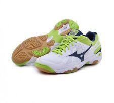 Men's Mizuno Wave Twister 4 Blanco Voleibol Squash Interior Court Shoes Trainers