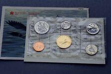 1991 CANADA PROOF LIKE PL SET KEY DATE 25 cents Quarter