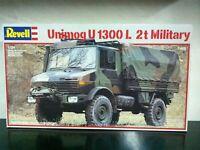 Revell Model Kit di Montaggio 1:24 7499 UNIMOG U1300L 2t MILITARY MIB, 1987