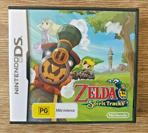 The Legend of Zelda: Spirit Tracks - Nintendo DS Game 🎮 PAL - Complete