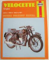 Velocette Singles 349cc-499cc 1953 To 1971 Haynes Owners Workshop Manual No 186
