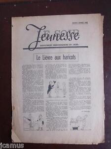 Tintin - Le Soir-Jeunesse -  Crabe aux pinces d'or n°25 - 3 avril 1941 -TBE!