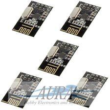 5 X NRF24L01+ Wireless Transceiver 2.4Ghz Arduino PIC RF ARM Hobby Model UK A405