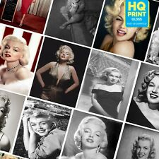 Marilyn Monroe American Actress Photo Vintage Posters Print | A5 A4 A3 |