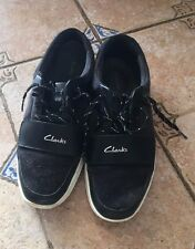 clarks shoes for mens size 9.5 black  free shipping!!!!!!!