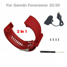 For Garmin Forerunner 35/30 Watch Heart Rate Monitor Wrist Band +Charger
