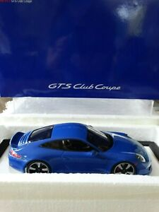 Z Models 2015 Porsche 911 GTS Club Coupe 1:18 Scale Resin Exclusive Limited Car