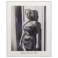 Marilyn Monroe Front of Silky Dress Fine Art Print. 50s Icon 50x40cm