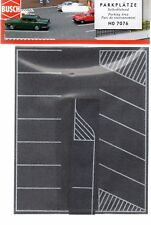 HO Scale Busch Gmbh & Co 7076 Flexible Self Adhesive Parking Lot
