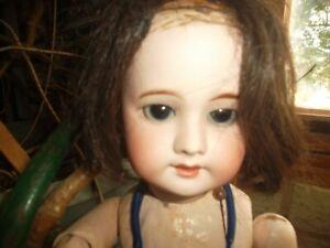 ancienne poupée de collection SFBJ 60 numéro 3 paris d'origine