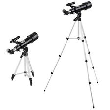 400x70mm Refractor Astronomical Telescope Eyepieces Tripod For Travel Wild