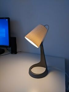 New Work Lamp Decorative  Ikea Svallet Dark Gray White with LED Bulb
