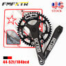 170 Crankset MTB Bike 44-52T 104BCD Narrow Wide Chainring Fit Shimano SRAM KMC