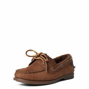 Ariat Antigua Deck Shoe Walnut