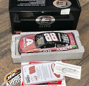 Dale Earnhardt Jr 1/24 2017 diecast Axalta Last Ride SIGNED Flashcoat 68 MADE