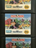Monopoly (Sega Genesis, 1992) Cartridge Only