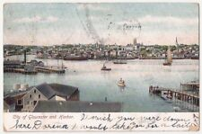 City of Gloucester and Harbor MA Antique Postcard Undivided