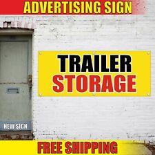 Storage Banner Advertising Vinyl Sign Flag Trailer Units Available Rv Boat Park