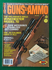 Rivista/Magazine (USA) GUNS & AMMO n.6 June (1983) WINCHESTER MODEL 70