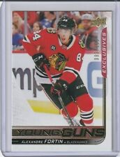 2018-19 UD ALEXANDRE FORTIN RC YOUNG GUNS EXCLUSIVES PARALLEL SP (#83/100)!!!