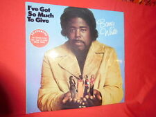 BARRY WHITE I've got so much to give LP AUSTRALIA 1973 MINT- First pressing