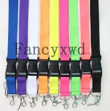 20pcs Solid Color Mobile Phone Lanyard Detachable Keychain Camera Straps SC -1