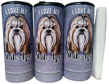 I Love my Shih Tzu(85014) Refillable Tissue Tube with 1 Refill package