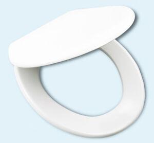WC Sitz 515020, Duroplast antibac, Soft-Close/Take off, Oval-Form Weiss