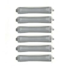 HAIRDRESSING  12 x EX LARGE GREY PERM  CURLERS/ ROLLERS RODS