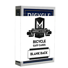 Blank Back Bicycle Cards (box color varies) from Murphy's Magic