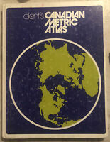 Used Book ~ Dent's Canadian Metric Atlas 1984