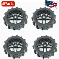 4Pcs 1:8 RC Buggy Tires Hex 17mm Wheels for Off Road RC Car Truck