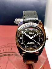 Classic Oris Mechanical SwissMade Watch Racetime Newstrap/glass refurb/Serviced.