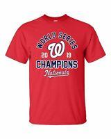 Washington Nationals 2019 World Series Champions T-Shirt - S-5XL Free Shipping!
