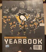 Pittsburgh Penguins 2019-20 Team YEARBOOK SGA 12-12-19 Promo Crosby Malkin