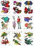 Super Mario Bros / The Legend of Zelda / Kid Icarus / Captain N. Sticker - NES