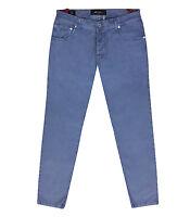 NEW Kiton Cly//Elastane Men/'s 5-Pocket Pants//Jeans Light Redwood 33US//49EU