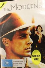 THE MODERNS OOP RARE DELETED PAL DVD FILM KEITH CARRADINE & LINDA FIORENTINO