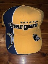 New Reebok San Diego Chargers Strapback Hat NFL Pro Line Authentic