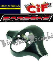 9397 - COPERCHIO MANUBRIO EFFETTO CARBONIO CARBONE VESPA 125 150 200 PX