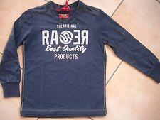 (C296) RARE-The Kid Boys Shirt + gelben Nächten aufgenähtem Logo & Druck gr.176