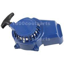 Blue Aluminum Pull Starter Start 47cc 49cc Mini Pocket Bike ATV Quad