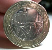 2006 £2 ISAMBARD KINGDOM BRUNEL ENGINEER - Coin Hunt Coin two pound coin