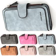 Womens Casual Zipper Leather Wallet Long Purse Ladies Card Holder Clutch Handbag